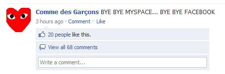commedesgarcons-byebye